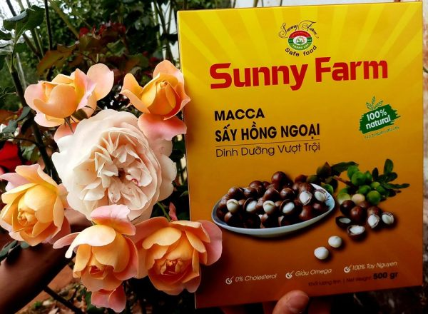 Macca sấy hồng ngoại Sunny Farm